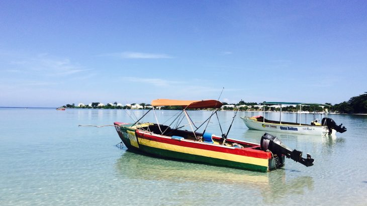 boat-in-negril-jamaica