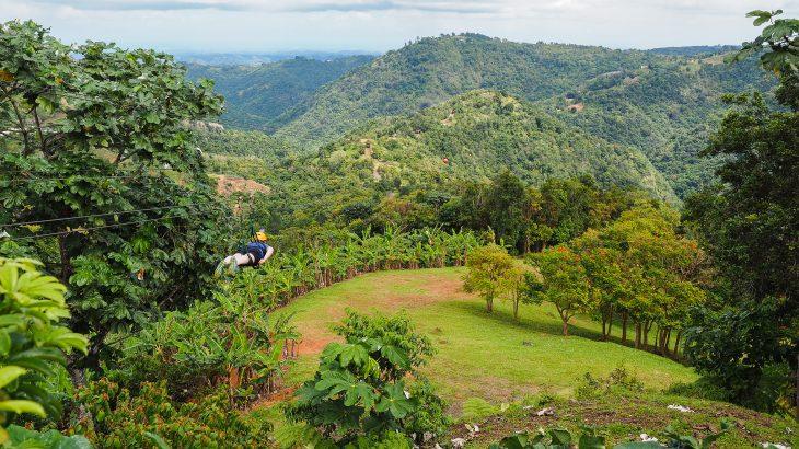 amanda-williams-travel-blogger-ziplining-in-puerto-rico