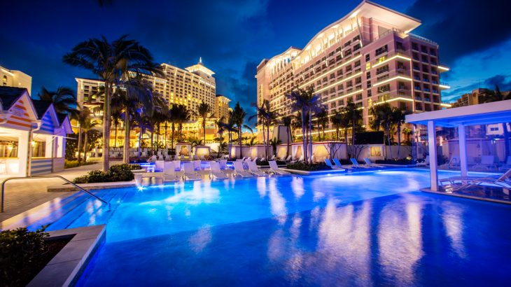 hyatt-baha-mar-pool-nighttime