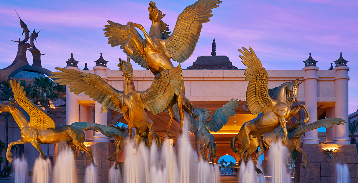 Pegasus Fountain