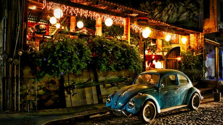 colorful-sayulita-mexico-night-vw-bug