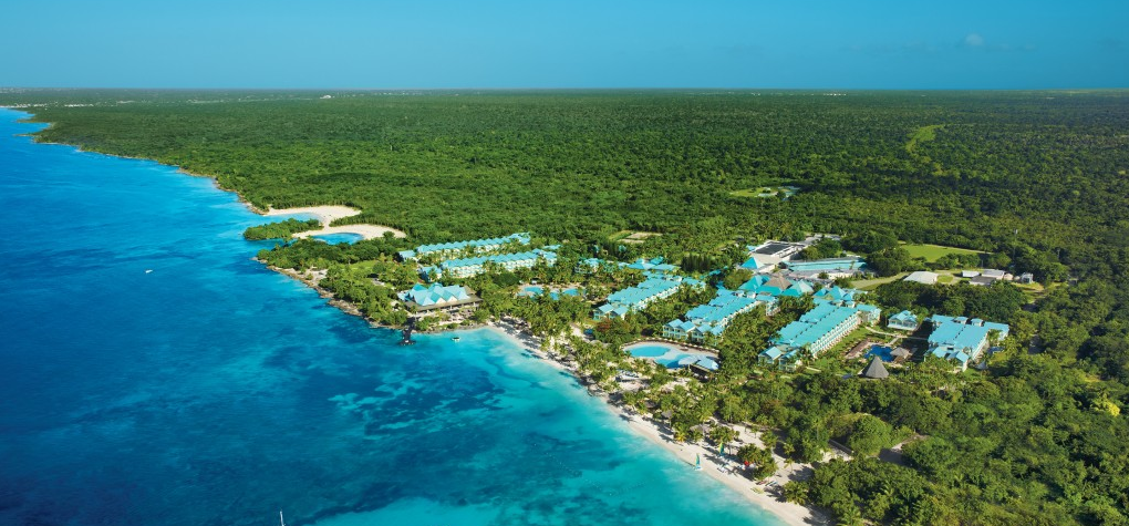 aerial-view-dreams-la-romana-resort-spa