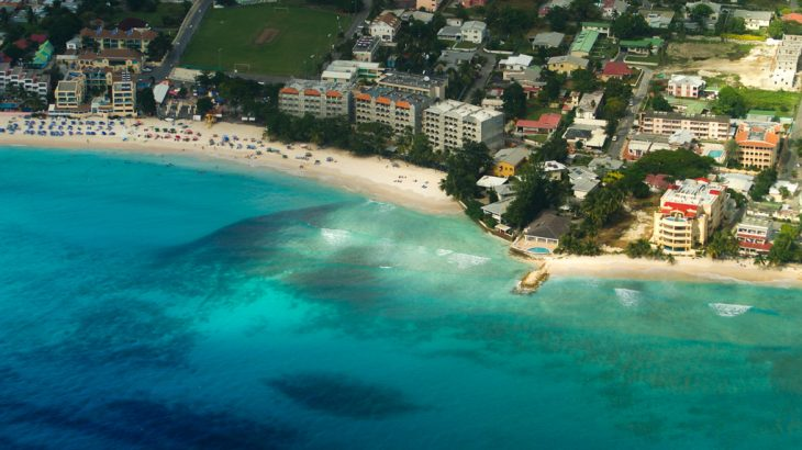 aerial-view-dover-beach-barbados-turquoise-water-sand-hotels