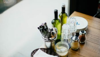 table-glass-bottle-utensils