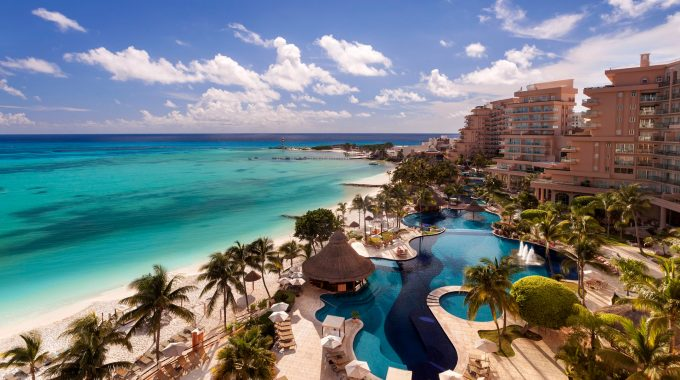 Grand Fiesta Americana Coral Beach in Cancun, Mexico.