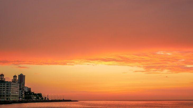 orange-sunset-havana-cuba