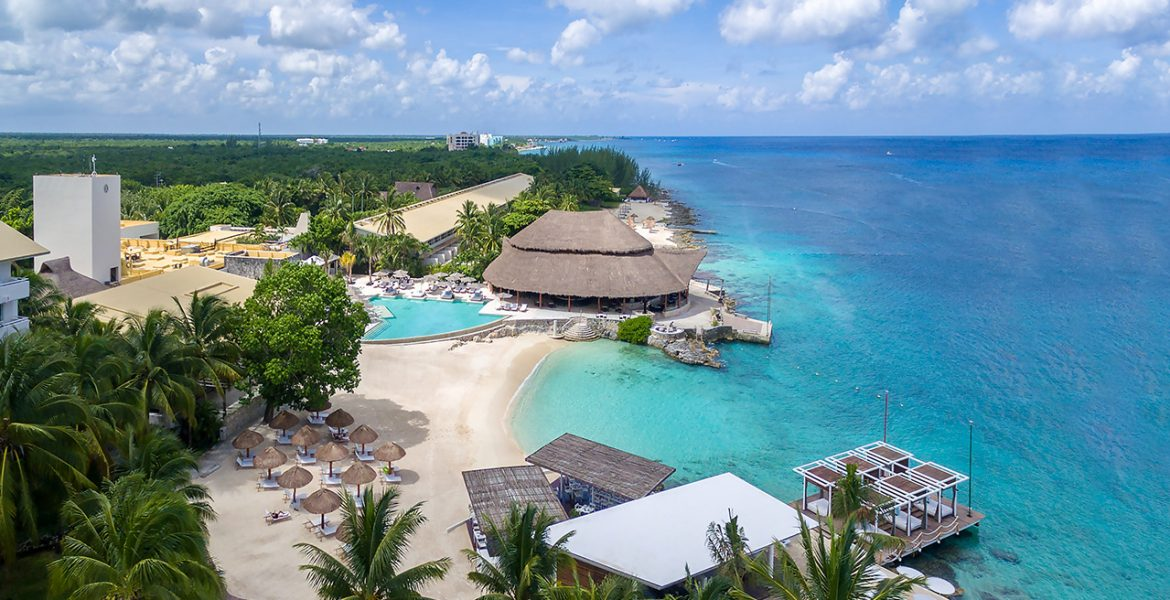 aerial-view-beach-intercontinental-cozumel