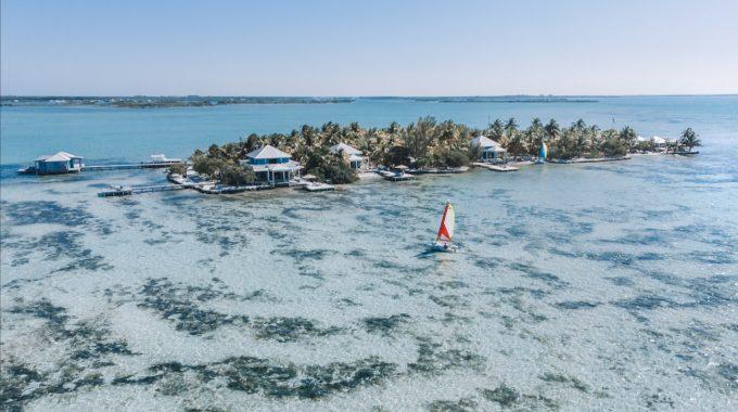 Cayo-Espanto-Belize-aerial-view