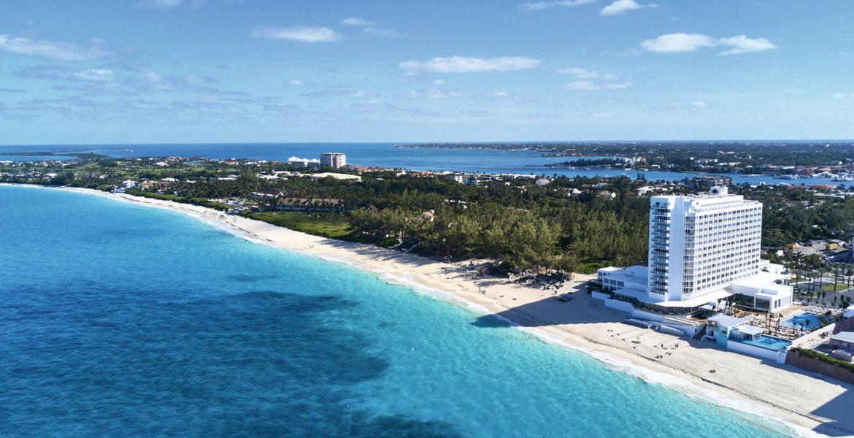 aerial-beach-riu-palace-paradise-island