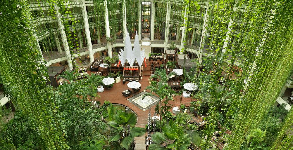 lush-green-atrium-paradisus-cancun
