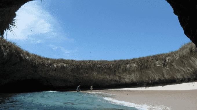 beach-inside-cave-marietas-islands-mexico