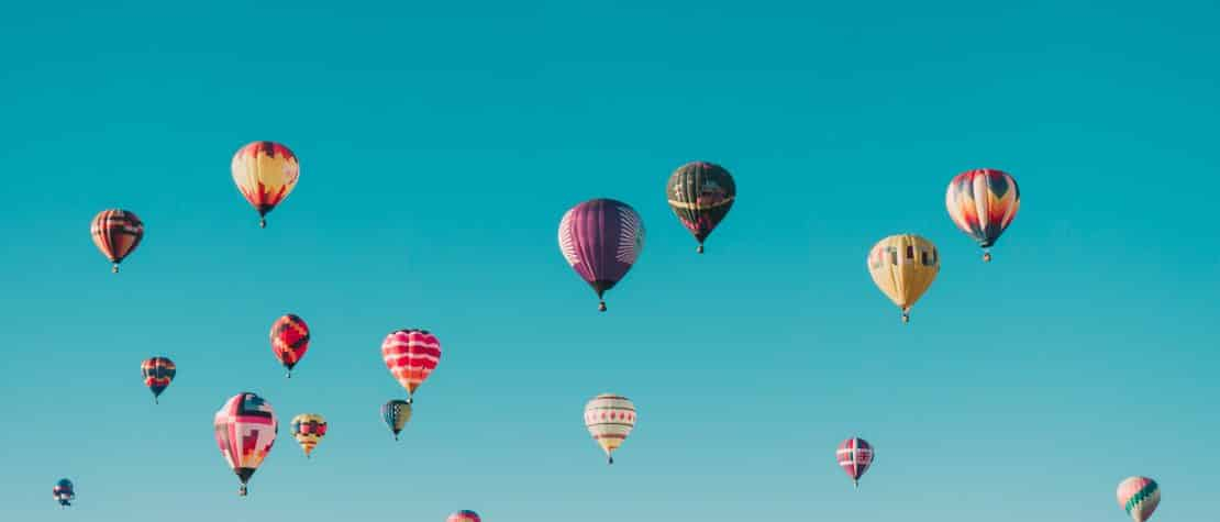 hot-air-balloon-festival-blue-sky