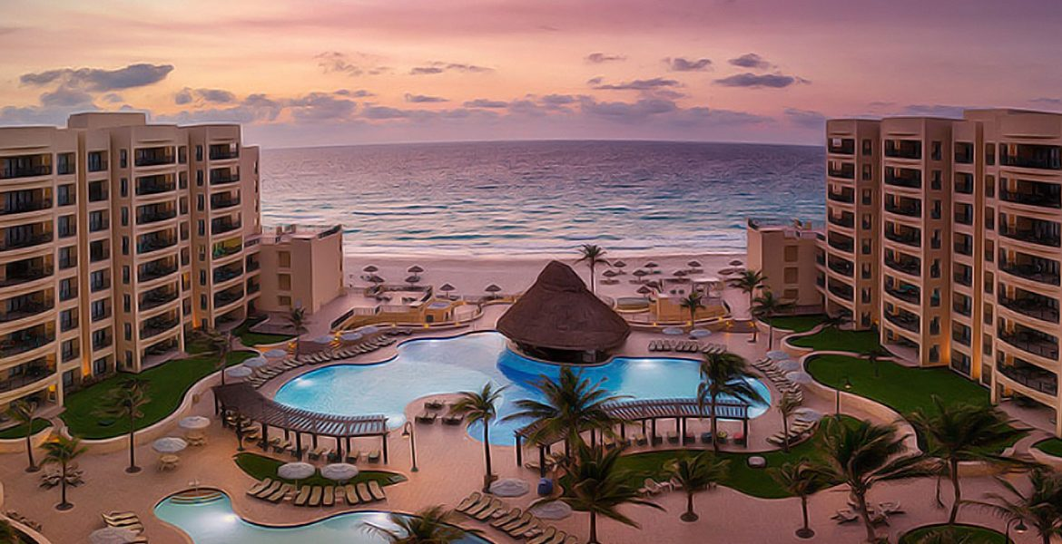 resort-pool-sunset-royal-sands-resort-spa-cancun