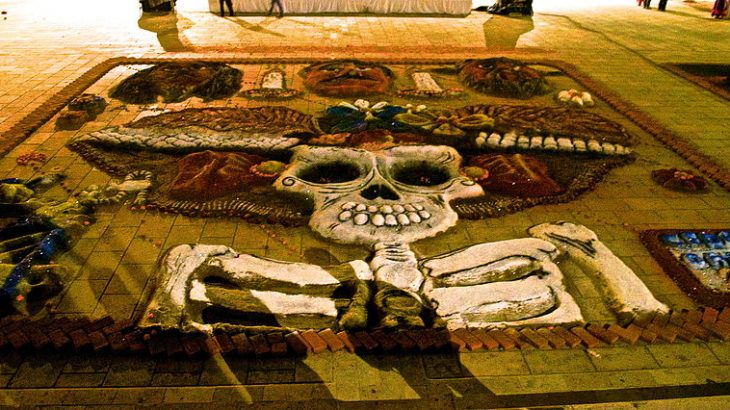 sand-carpet-design-oaxaca-day-dead