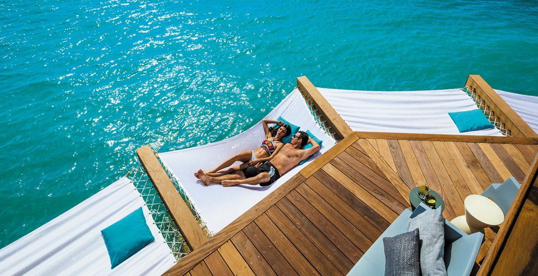overwater-bungalow-hammock