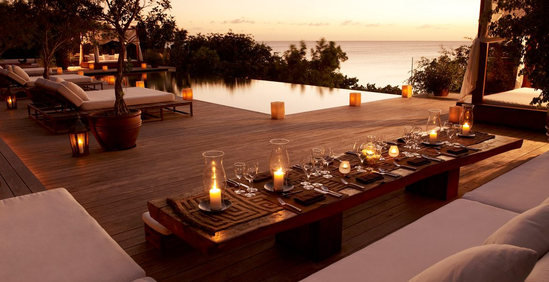 sunset-como-parrot-cay-resort