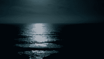 ocean-night-moon-reflection