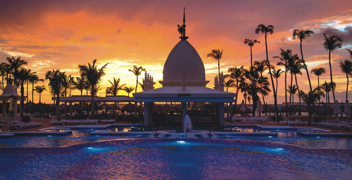 resort-pool-sunset