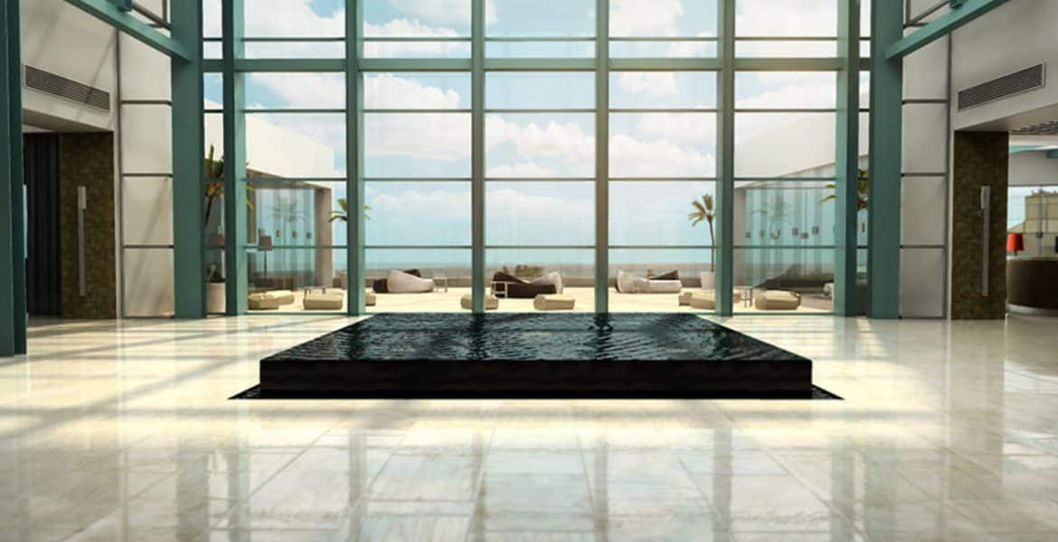 hotel-lobby-black-fountain-pool