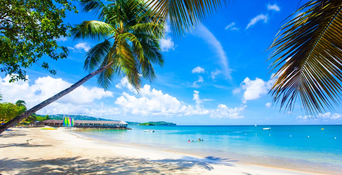 white-sand-blue-water-palm-trees
