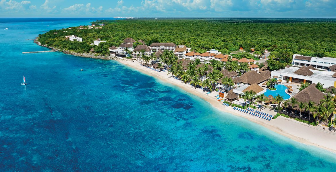 aerial-view-cozumel-beach-resort