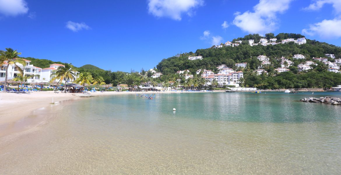 crescent-shaped-beach-windjammer-landing-resort-st-lucia
