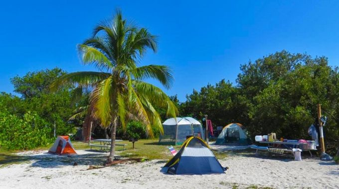 camp-site-Dry-Tortugas-National-Park