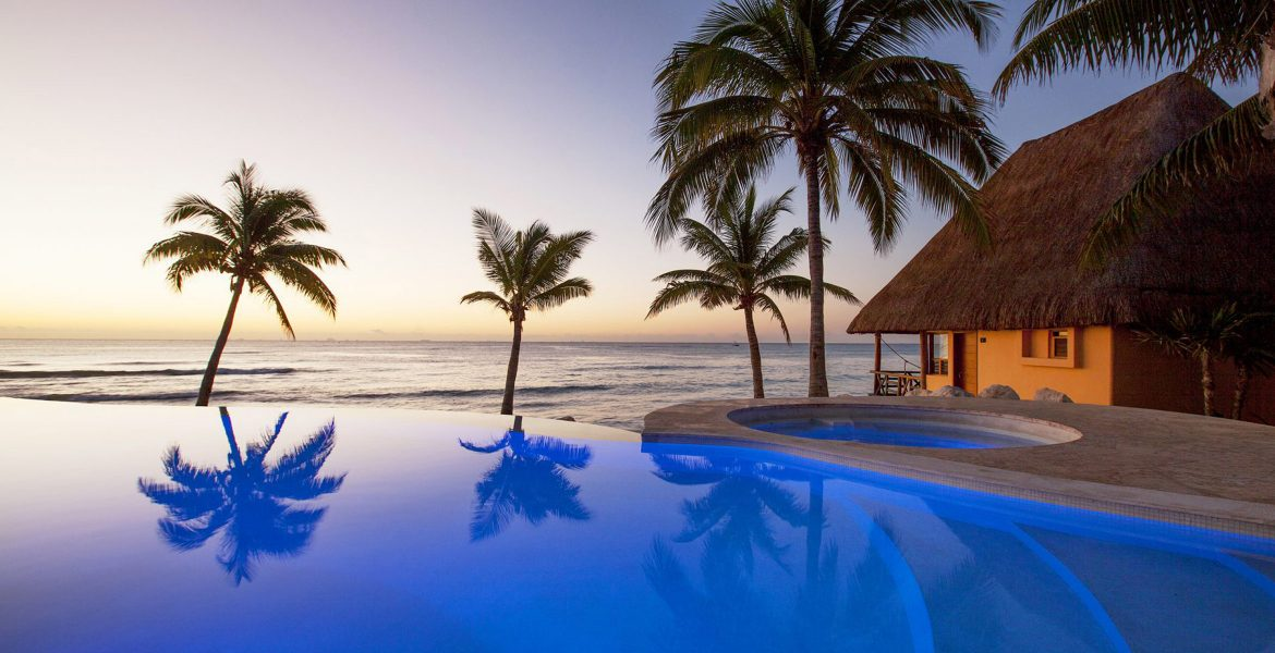 beach-resort-pool-sunset