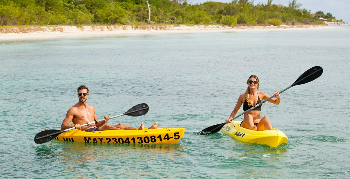 two-people-kayaking-yellow-kayaks