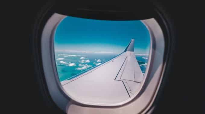 view-out-airplane-window