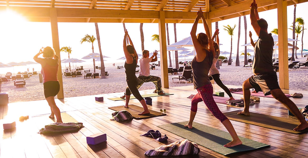 manchebo-beach-resort-aruba-yoga-class