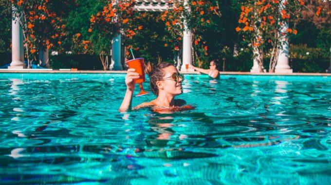 water-pool-blue-girl-drink