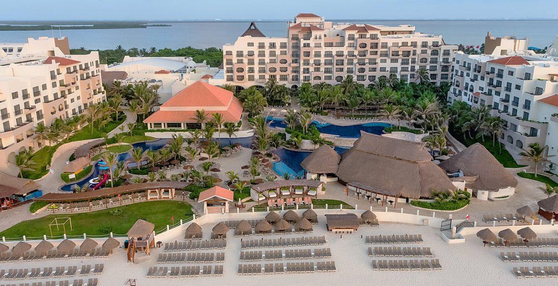 aerial-view-fiesta-americana-condesa-cancun-beach-hotel