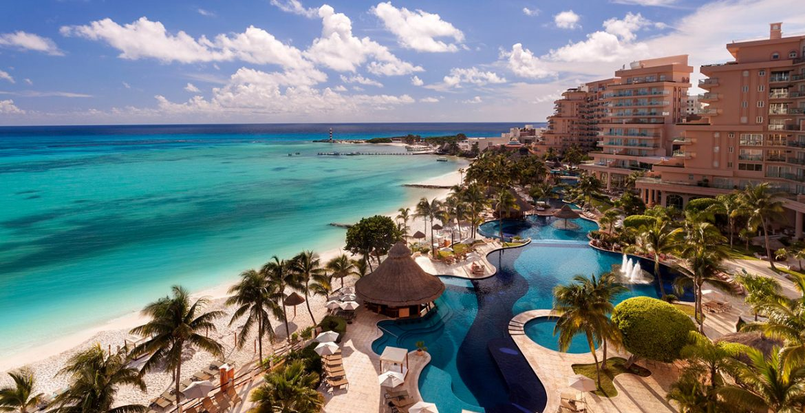 aerial-view-grand-fiesta-americana-coral-beach-cancun