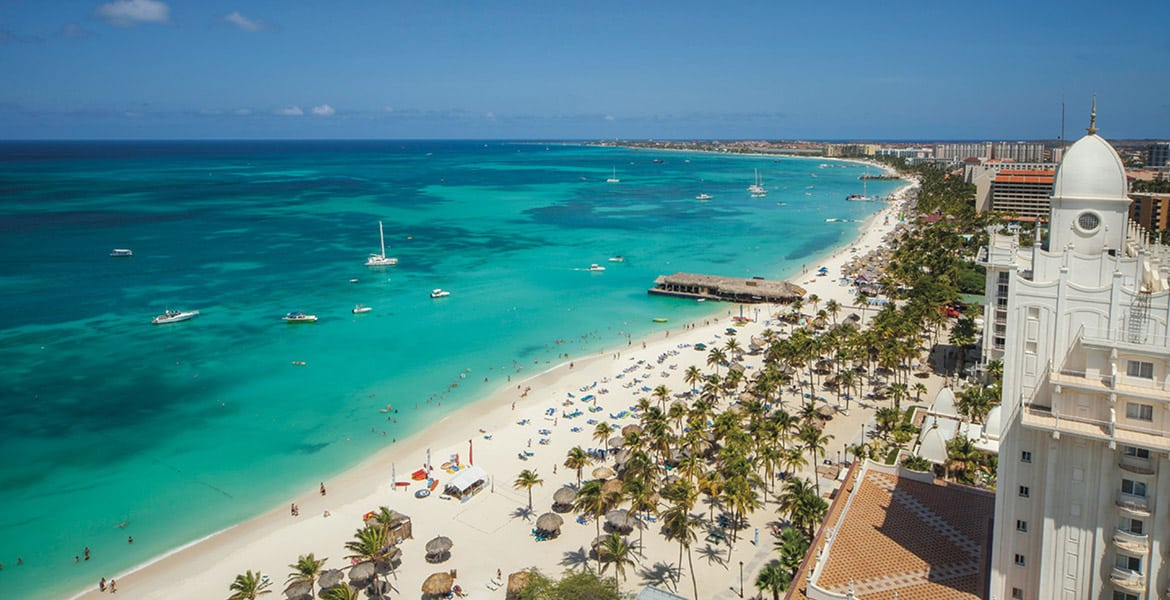 aerial-beach-view-riu-palace-antillas-aruba