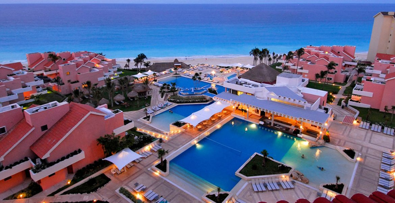aerial-view-sunset-omni-cancun-beach-hotel-cancun-mexico