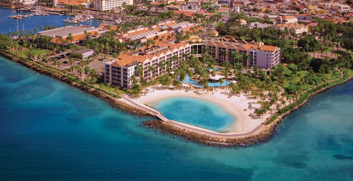 aerial-view-Renaissance-Aruba-Resort-Casino