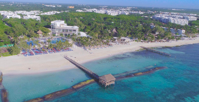 aerial-view-beach-The-Fives-Azul-Beach-Resort-by-Karisma-playa-del-carmen-mexico