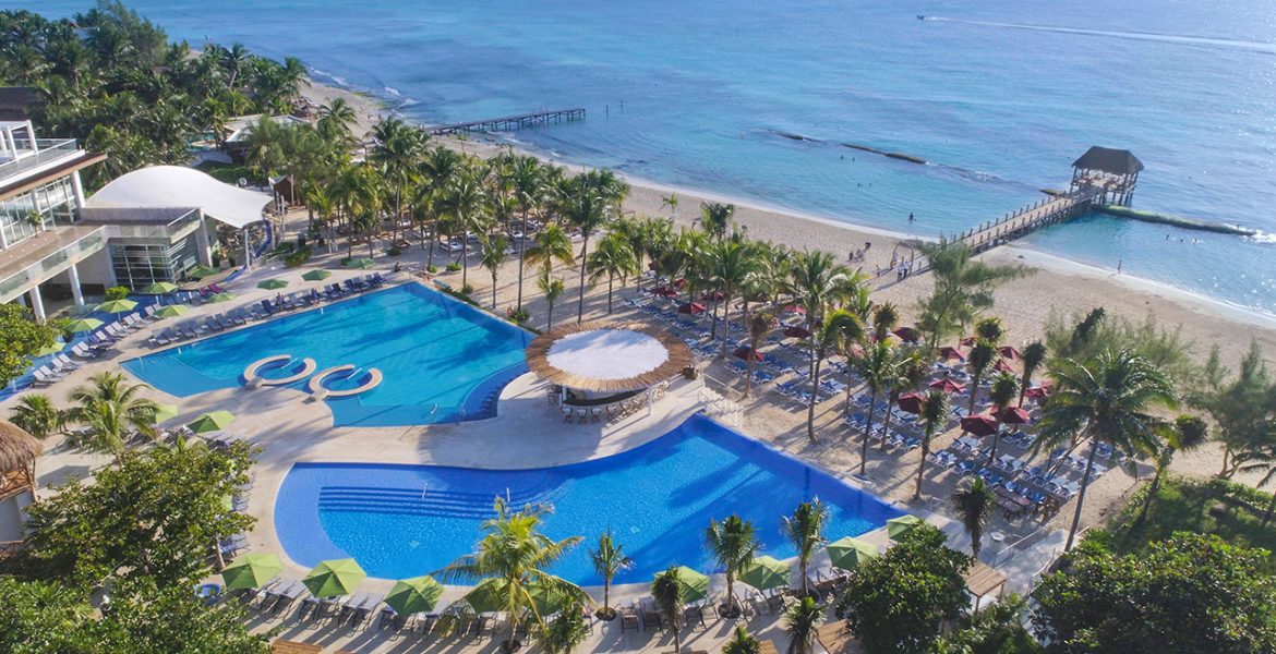 aerial-view-resort-The-Fives-Azul-Beach-Resort-by-Karisma-playa-del-carmen-mexico