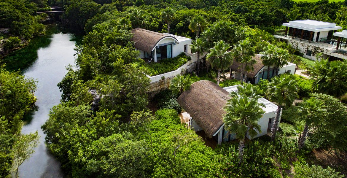 aerial-view-jungle-andaz-mayakoba-resort-playa-del-carmen-mexico