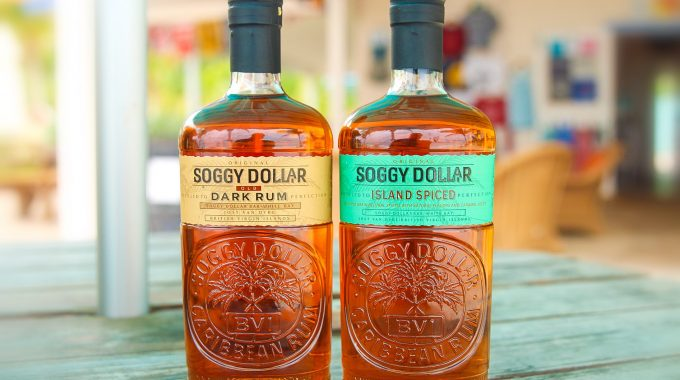 New handmade, locally made rum at the Soggy Dollar