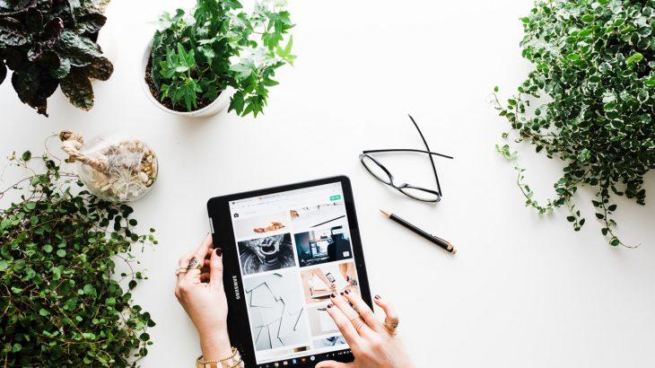 hands-tablet-photo-inspiration-green-plants