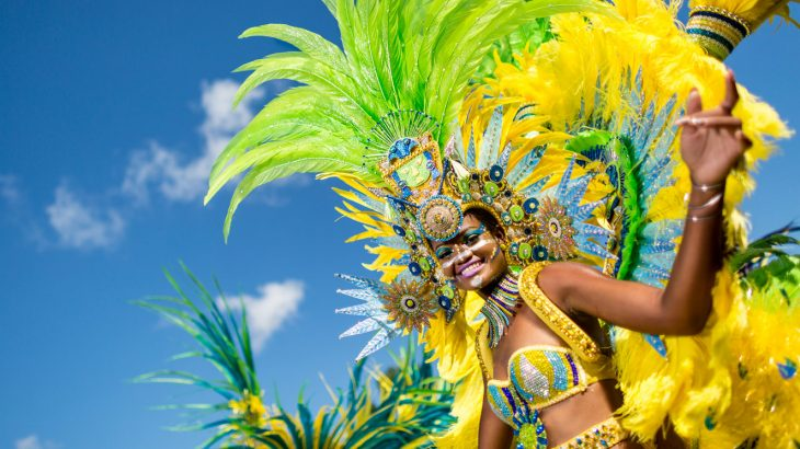 yellow-green-woman-costume-aruba-carnival