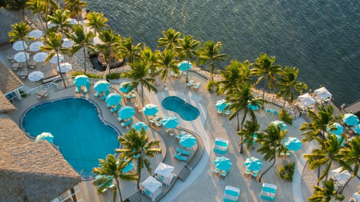 aerial-view-bungalows-key-largo-pool