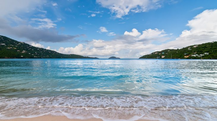 Magens Bay Beach, USVI