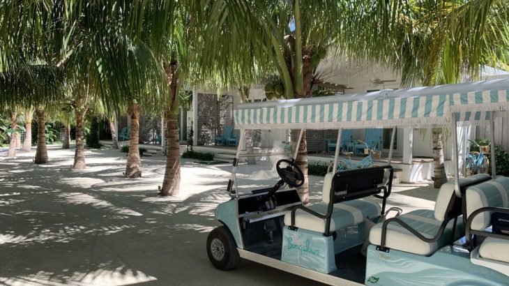 golf-cart-ride-bungalows-key-largo