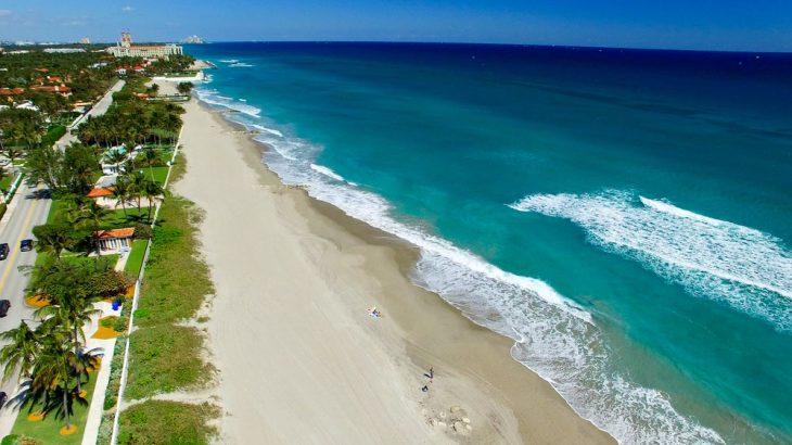 palm-beach-florida-aerial-view