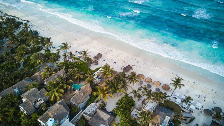 aerial-view-ocean-water-villa