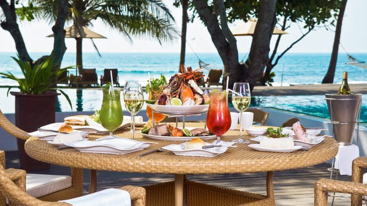 Brunch in the Caribbean