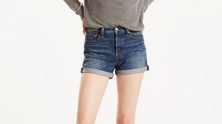 Wedgie Fit Shorts from Levi's